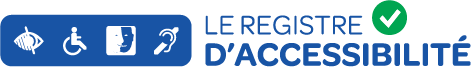 Logo Registre d'accessibilité